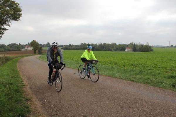 Eliane et le cyclo des 6 jours de Vars
