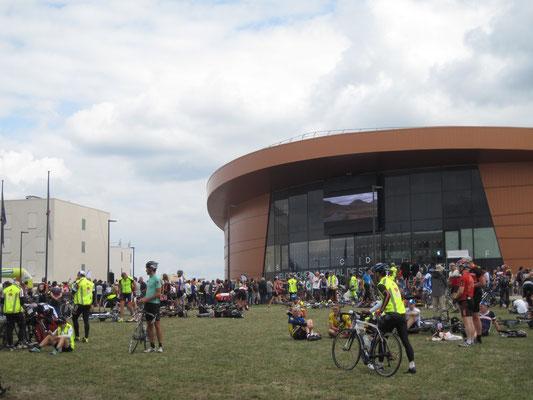 Le vélodrôme de Saint Quentin en Yveline
