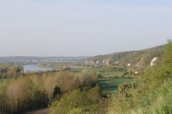 Vue sur la vallée de la Seine