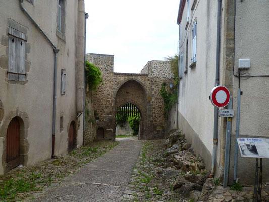 La Porte Bergère à le Dorat (BPF 86)