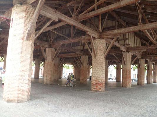 Halle du 13ième siècle au BPF de Grenade