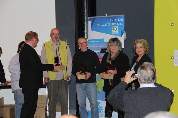 Les lauréats du BPF...