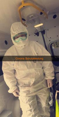 Im Vollschutz während der Corona Pandemie unterwegs