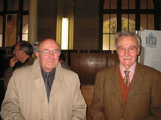 Maurice Bauve et Georges Pétiard