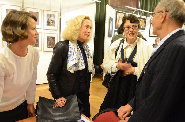 Agathe Corre-Rivière, Brigitte Fossey, Marie Anne Rivière,  Alain Libolt