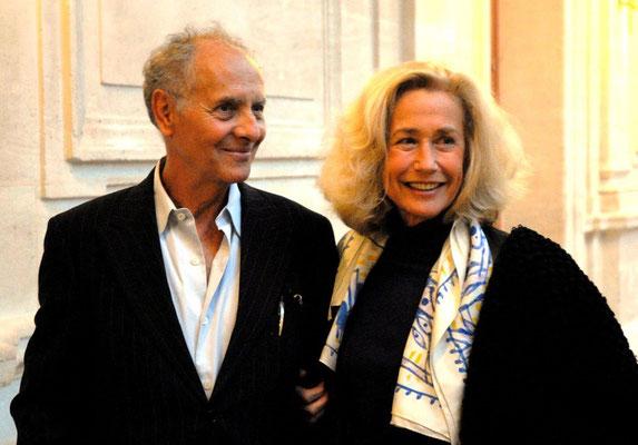 Alain Libolt et Brigitte Fossey