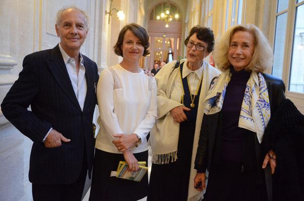 Alain Libolt, Agathe Corre-Rivière, Marie Anne Rivière,  Brigitte Fossey