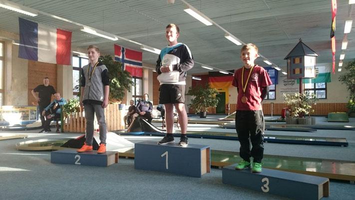 Lukas Platz 1, bei den Schülern.