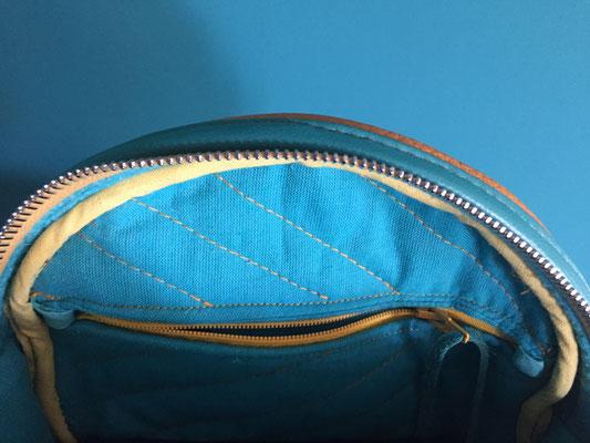 Leder Handtasche Clutch