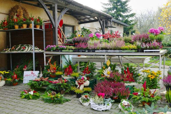 Blumen-Rose | Gestecke und Grabschmuck, bereit zum Verkauf.
