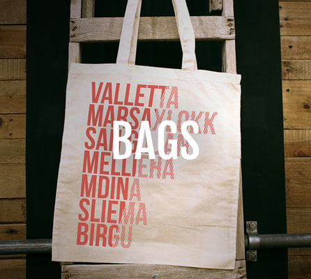 Malta Designer Tote Bags and Backpacks