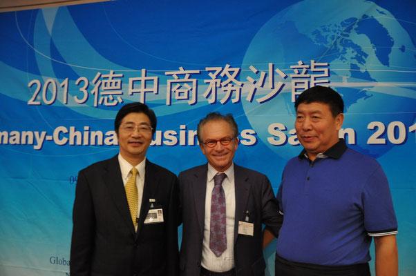 Dr. Georg Zanger, Zhou De Wen (Vizepräsident GASME China)