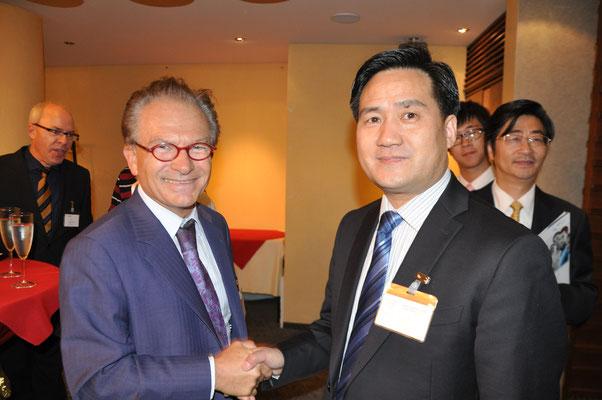 Frank Cao (Generalsekretär GASME Shanghai)