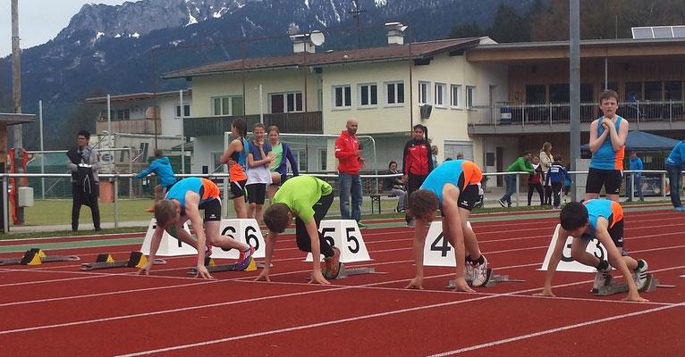 Florian...Start 60m Hürden