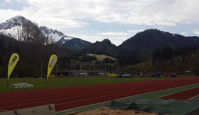 Stadion in Reutte