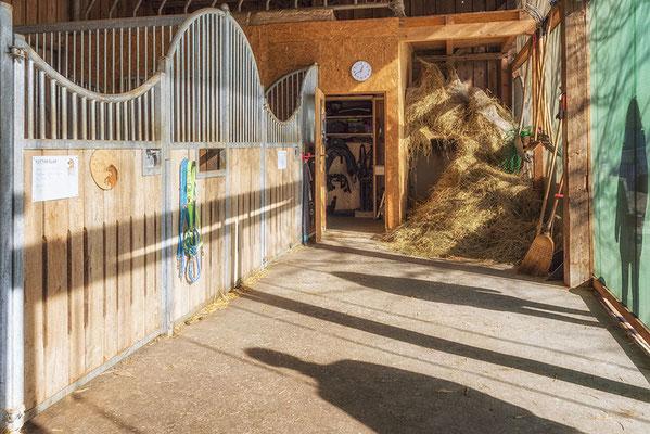 Seperate Stallung für Ihr Pferd im Pferdehof in Steinhöring