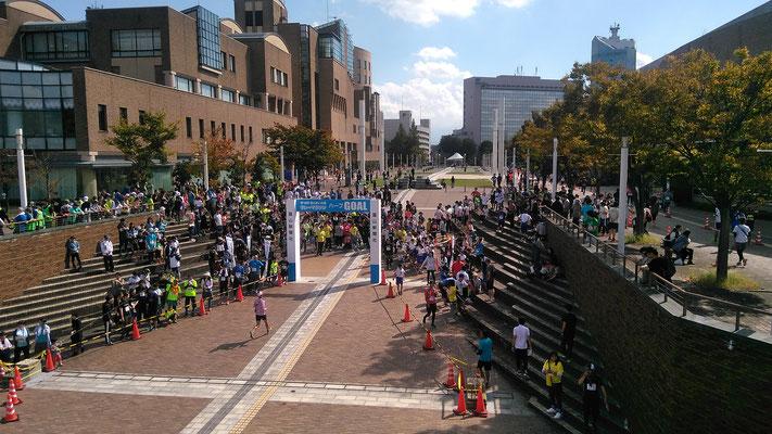 富山リレーマラソン