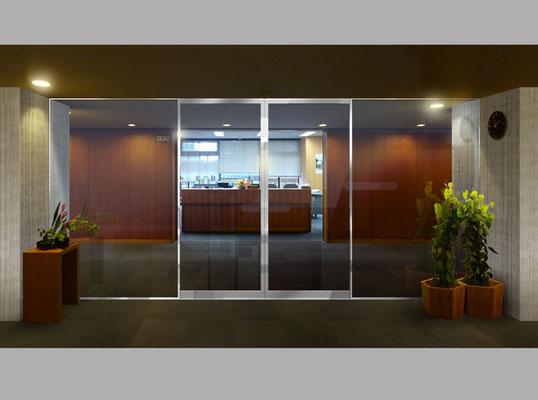 建具新設と壁面素材修正後写真合成イメ-ジ