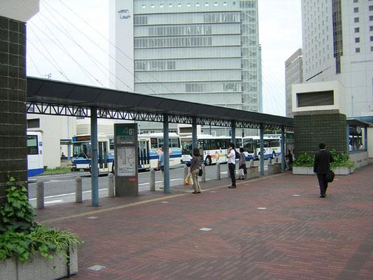 バス停の現状写真