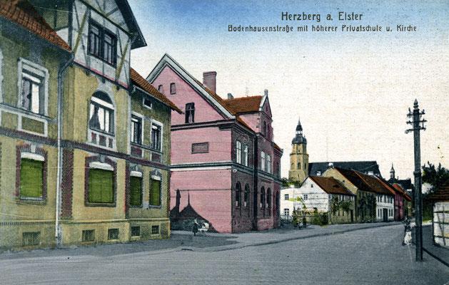 Bodenhausenstraße, die heutige Rosa-Luxemburg-Straße