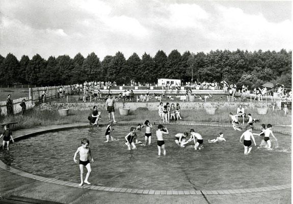 Das heutige Schwimmbad