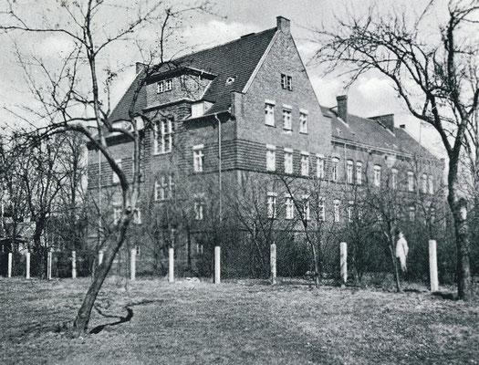 Erweiterungsbau in der Anhalter Straße.