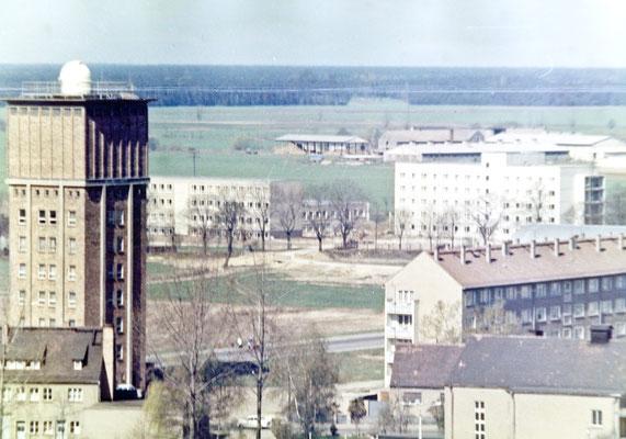 Der im Bau befindliche Wilhelm-Pieck-Ring
