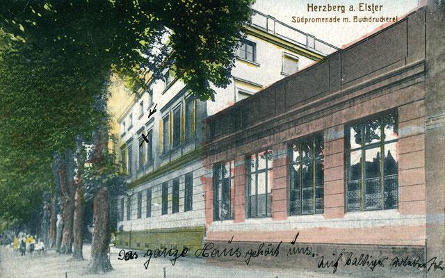 Die Druckerei an der Südpromenade