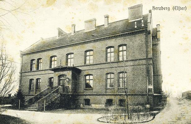 Ursprüngliches Krankenhaus, das Bethanien, in der heutigen Anhalter Straße.