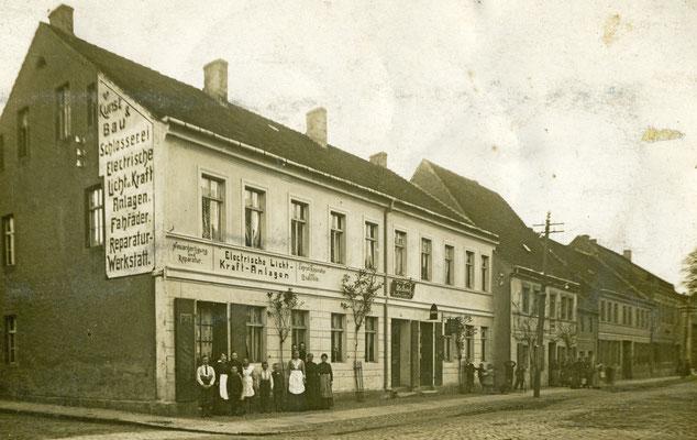 Firma Bucke in der Torgauer Straße