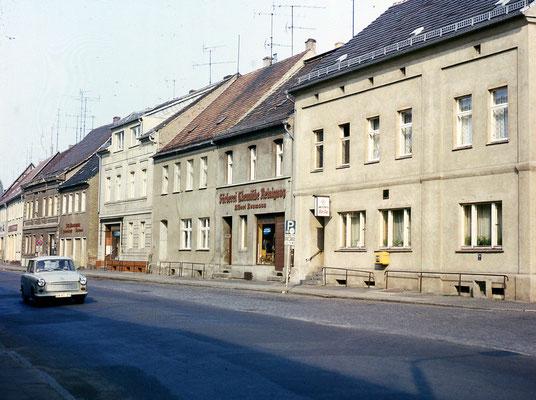 Blick in die Schliebener Straße
