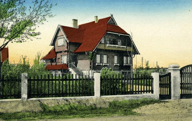 andratsvilla in der damaligen Freiherr-von-Palombini- und heutigen Karl-Liebknecht-Straße.