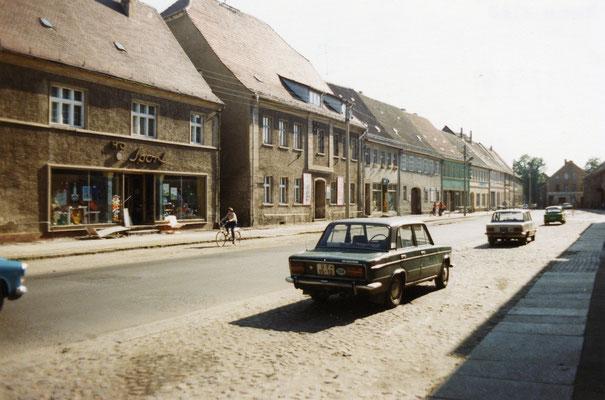 Blick in die Torgauer Straße