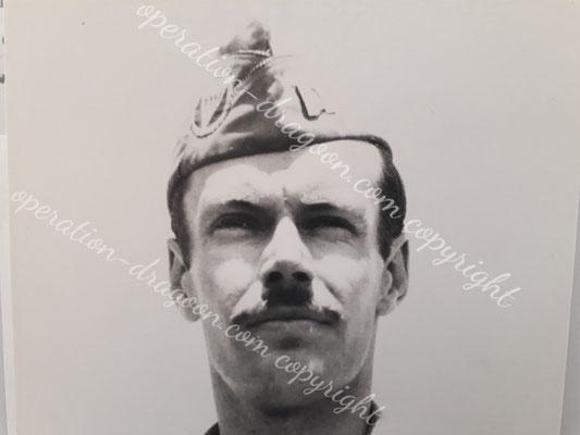 Photo développée après l'opération. Le négatif fut caché dans la doublure des vêtements civils du JONES pour permettre son identification auprès du général FREDERICK.