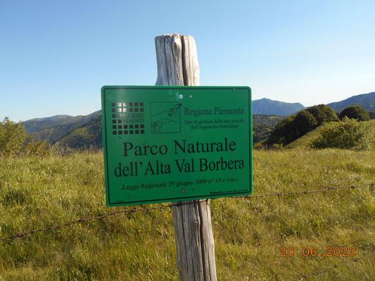 al confine tra Piemonte e Liguria