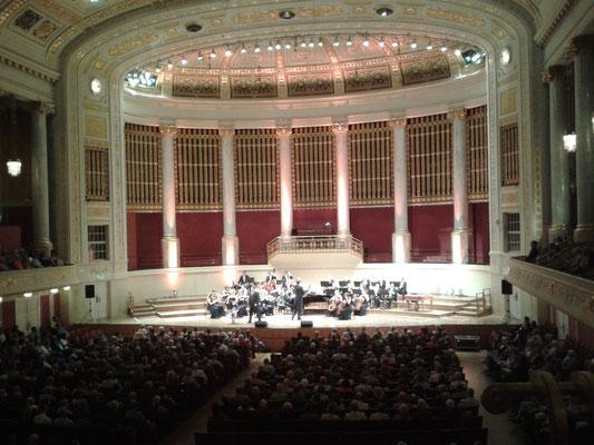 Wiener Konzerthaus, Großer Saal - Mai 2014