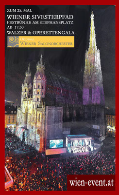 Silvester am Stephansplatz 2014/15