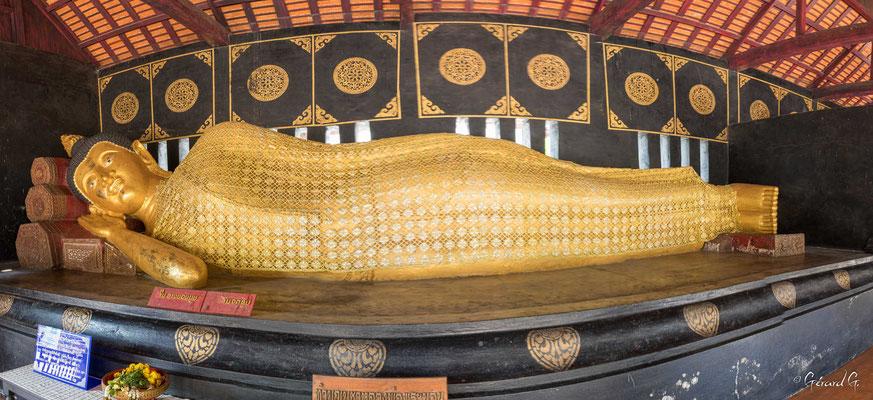 2019  02 - Chiang Mai , Wat Chadi Luang  -L10A7038-Panorama