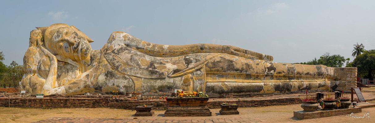 2019  02 - Ayutthaya , Wat Lokaya Sutha  -L10A5689-Panorama