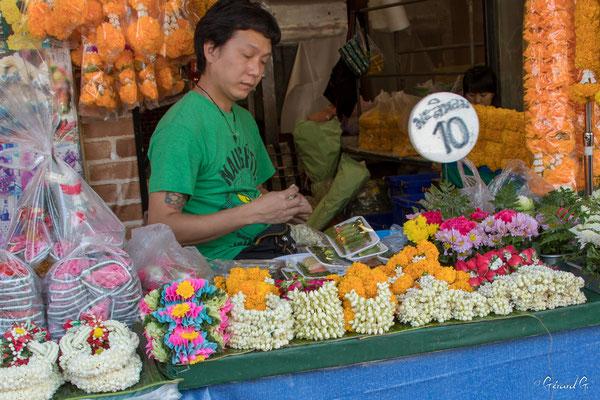 2019  02 - Bangkok, Marche aux fleurs   -L10A5099
