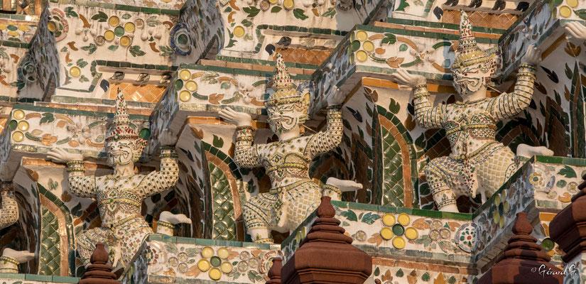 2019  02 - Bangkok , Wat Arun (Temple de l'Aube)  -L10A5281