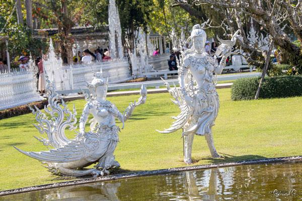 2019  02 - Chiang Rai , Wat Ronglhun (le temple blanc)  -L10A6421