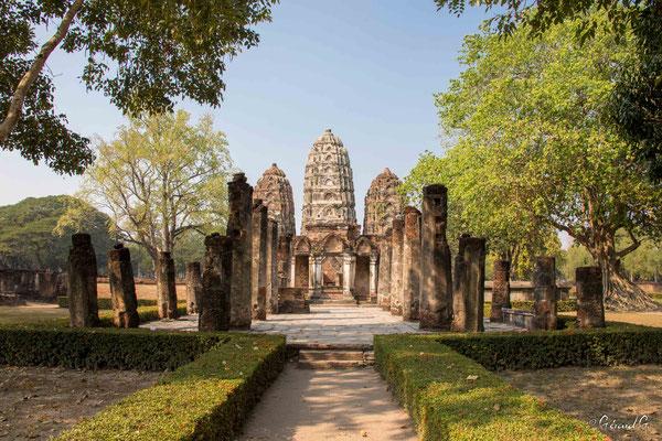 2019  02 - Sukhotai , Wat Sri Savaya  -L10A6054
