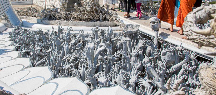 2019  02 - Chiang Rai , Wat Ronglhun (le temple blanc)  -L10A6430