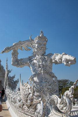 2019  02 - Chiang Rai , Wat Ronglhun (le temple blanc)  -L10A6434