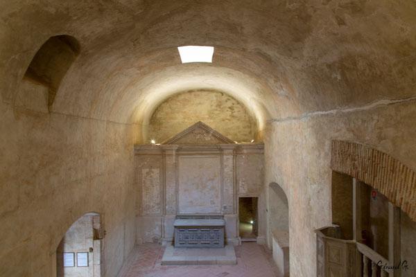 Forteresse de Salses : chapelle