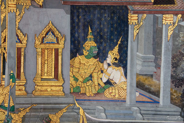 2019  02 - Bangkok , Wat Phra Kaew  -L10A5523