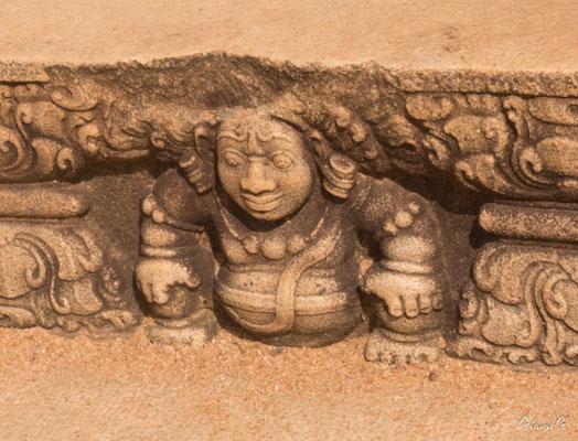 Anuradhapura, pierre de lune