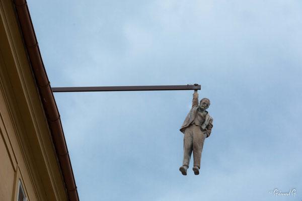 Freud , statue de David Cerny