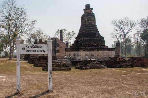 2019  02 - Sukhotai , Wat Chedi Si Hong  -L10A5937